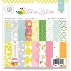 Citrus Bliss Paper Pad 6x6  36 pkg - 1