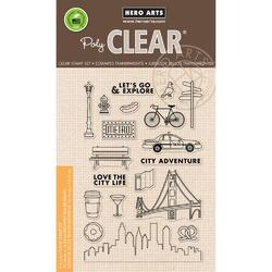 City Adventure Clear Stamps 4x6