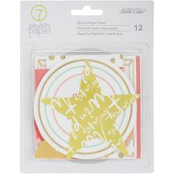 Clara Girl w/Gold Foil Die-Cuts 12 pkg - 1