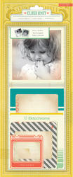 Close Knit - Stitched Photo Overlays - Crate Paper