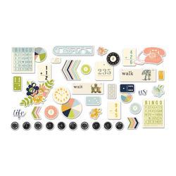 Collecting Moments Die-Cut Cardstock Ephemera