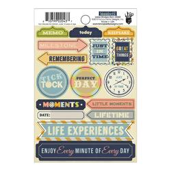 "Collecting Moments Label Stickers 4""X6"""