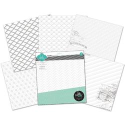 "Color Magic Resist Paper Pack 12""x12"""