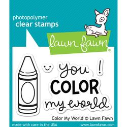 Color My World Clear Stamps - 1
