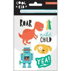 Cool Kid Rubber Shapes 7/Pkg - 1