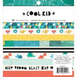 """Cool Kid Paper Pad 6""""x6"""" - 1"""