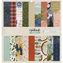"Creekside Double-Sided Paper Pad 12""X12"" - 1"