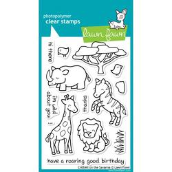 Critters On The Savanna Clear Stamps - 1