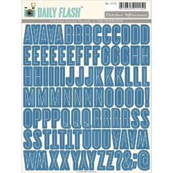 Daily Flash Alpha Deep Sea Stickers - 1