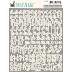 Daily Flash Alpha Meringue Stickers - 1