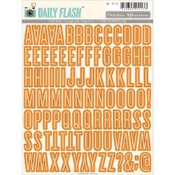 Daily Flash Alpha Orange Soda Stickers - 1