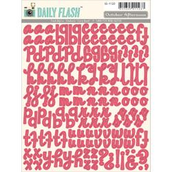 Daily Flash Alpha Rhubarb Stickers - 1