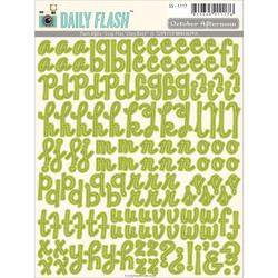 Daily Flash Alpha Snap Peas  Stickers - 1