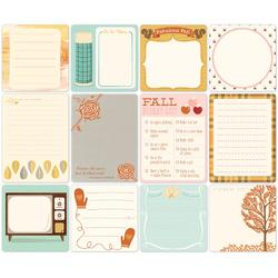 Daily Flash Apple Cider Cardstock Die-Cuts Memory Cards