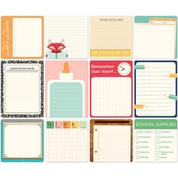 Daily Flash Milk Money Cardstock Die-Cuts Memory Cards