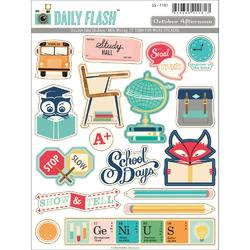 Daily Flash Milk Money Sticker Cardstock Die-Cuts