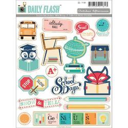 Daily Flash Milk Money Sticker Cardstock Die-Cuts