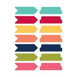 Day 2 Day Planner Sticky Notes 14/Pkg - Arrows & Tabs - 1