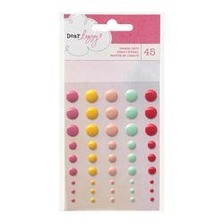 Daydreamer Adhesive Back Enamel Dots 45 pkg