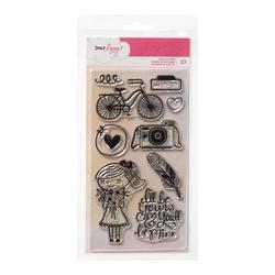 Daydreamer Clear Acrylic Stamps