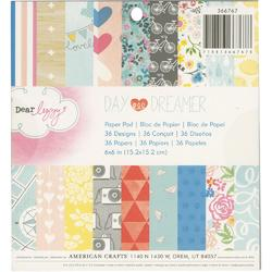 "Daydreamer Paper Pad 6""x6"" 36/Sheets"