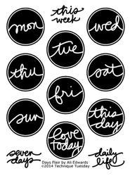 Days Flair by Ali Edwards