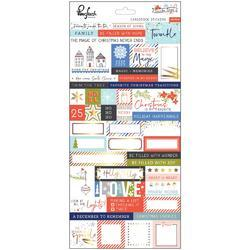 "December Days Cardstock Stickers 5.5""X11"""