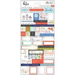 "December Days Cardstock Stickers 5.5""X11"""