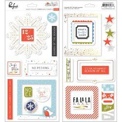 "December Days Chipboard Frames Stickers 5.5""X11"" 2/Pkg"