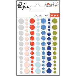 December Days Ename Dots Stickers 84/Pkg