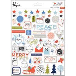 "December Days Puffy Stickers 8""X10"""