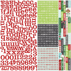 """December Documented - SN@P! Cardstock Stickers 12""""x12"""""""