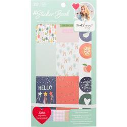Designer #Sticker Book Dear Lizzy w/Rose Gold Foil - 1