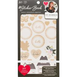 Designer #Sticker Book Jen Hadfield w/Gold Foil - 1