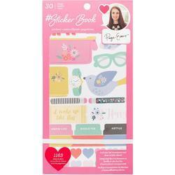 Designer #Sticker Book Paige Evans w/Rose Gold Foil - 1