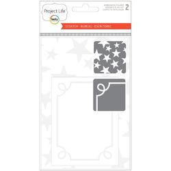 Desktop Project Life Embossing Folders 2pkg