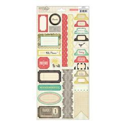 "DIY Shop Cardstock Stickers 6""x12"""