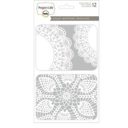 Doily Project Life Photo Overlays 12 pkg - 1