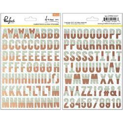 "Dream On Cardstock Stickers Alpha 5""X7"" 2/Pkg"