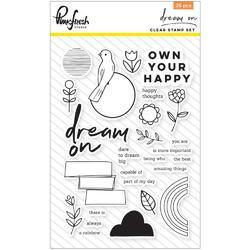 """Dream On Clear Photopolymer Stamps 4""""X6"""""""