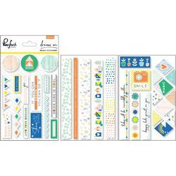"Dream On Washi Stickers 4""X6"" 3/Pkg"