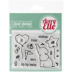 Ellie Clear Stamp Set - 1