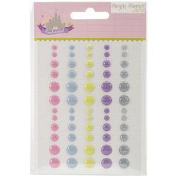 Enchanted Enamel Dots Embellishments - 1