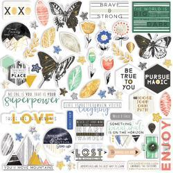 Escape the Ordinary Cardstock Die-Cuts 61/Pkg - 1