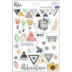 """Escape The Ordinary Puffy Stickers 6""""X8"""" - 1"""