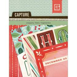 "Evergreen Snippets Double-Sided Cardstock Cards 3""x4"""