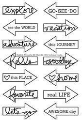 Explore Arrows by Ali Edwards