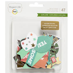 Explore wGold Foil Ephemera Die-Cut Shapes - 1