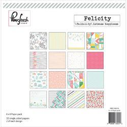 "Felicity Paper Collection Pack 6""x6"" - 1"