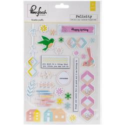 Felicity Puffs Stickers - 1